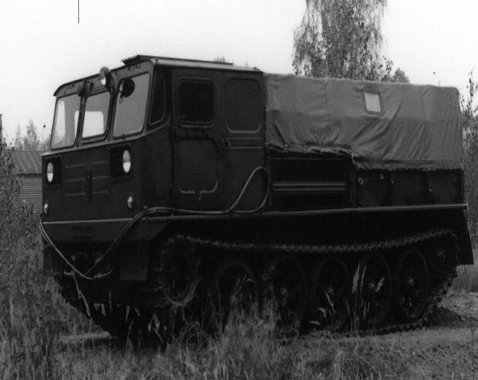 The Governments of Poland and Soviet Union decided to assign manufacturing of the ATS-59 artillery tractor to Łabędy plant.