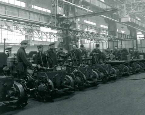 In the 1950s the Plant was also manufacturing goods for civil market.